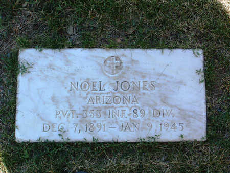 JONES, NOEL - Yavapai County, Arizona | NOEL JONES - Arizona Gravestone Photos