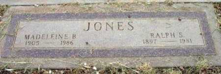 JONES, RALPH S. - Yavapai County, Arizona | RALPH S. JONES - Arizona Gravestone Photos