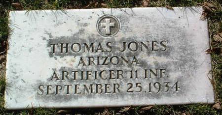 JONES, THOMAS - Yavapai County, Arizona   THOMAS JONES - Arizona Gravestone Photos
