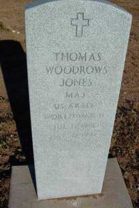 JONES, THOMAS WOODROW - Yavapai County, Arizona   THOMAS WOODROW JONES - Arizona Gravestone Photos
