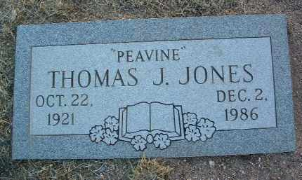 JONES, THOMAS JEFFERSON - Yavapai County, Arizona | THOMAS JEFFERSON JONES - Arizona Gravestone Photos