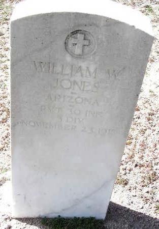 JONES, WILLIAM W. - Yavapai County, Arizona | WILLIAM W. JONES - Arizona Gravestone Photos