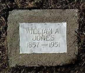 JONES, WILLIAM ARTHUR - Yavapai County, Arizona | WILLIAM ARTHUR JONES - Arizona Gravestone Photos