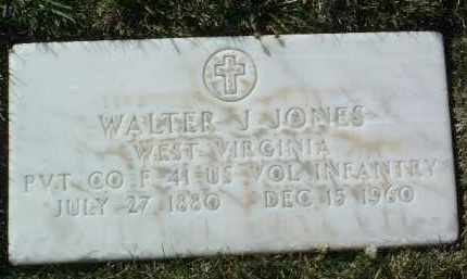 JONES, WALTER J. - Yavapai County, Arizona   WALTER J. JONES - Arizona Gravestone Photos