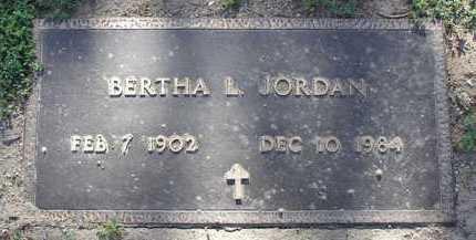 JORDAN, BERTHA LILLIAN - Yavapai County, Arizona | BERTHA LILLIAN JORDAN - Arizona Gravestone Photos