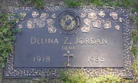 JORDAN, DELINA Z. (DENA) - Yavapai County, Arizona | DELINA Z. (DENA) JORDAN - Arizona Gravestone Photos