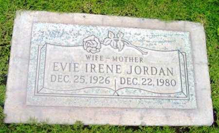 JORDAN, EVIE IRENE - Yavapai County, Arizona | EVIE IRENE JORDAN - Arizona Gravestone Photos