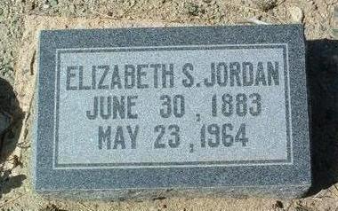 JORDAN, ELIZABETH SINCLAIR - Yavapai County, Arizona | ELIZABETH SINCLAIR JORDAN - Arizona Gravestone Photos