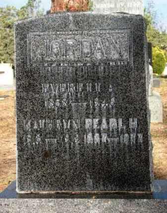 JORDAN, EVERETT AUGSTUS - Yavapai County, Arizona | EVERETT AUGSTUS JORDAN - Arizona Gravestone Photos
