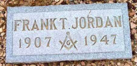JORDAN, FRANK THOMAS - Yavapai County, Arizona | FRANK THOMAS JORDAN - Arizona Gravestone Photos