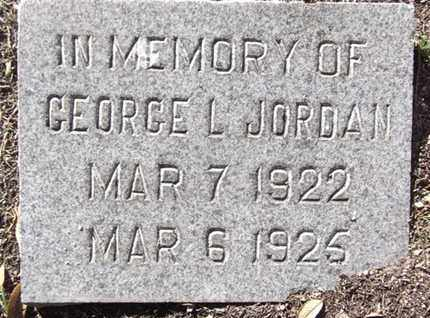 JORDAN, GEORGE LAWRENCE - Yavapai County, Arizona | GEORGE LAWRENCE JORDAN - Arizona Gravestone Photos