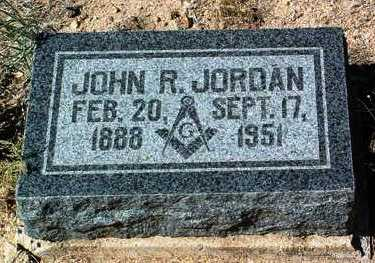 JORDAN, JOHN RANKIN - Yavapai County, Arizona | JOHN RANKIN JORDAN - Arizona Gravestone Photos