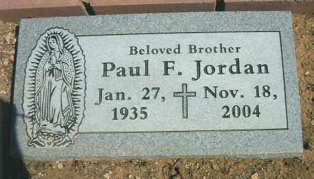 JORDAN, PAUL FRANCIS - Yavapai County, Arizona   PAUL FRANCIS JORDAN - Arizona Gravestone Photos