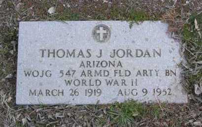 JORDAN, THOMAS JOSEPH - Yavapai County, Arizona | THOMAS JOSEPH JORDAN - Arizona Gravestone Photos