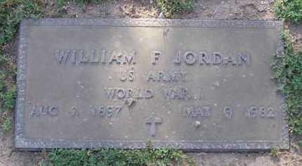 JORDAN, WILLIAM F. - Yavapai County, Arizona   WILLIAM F. JORDAN - Arizona Gravestone Photos