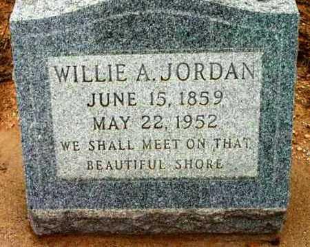 JORDAN, WILLIAM ALBION - Yavapai County, Arizona   WILLIAM ALBION JORDAN - Arizona Gravestone Photos