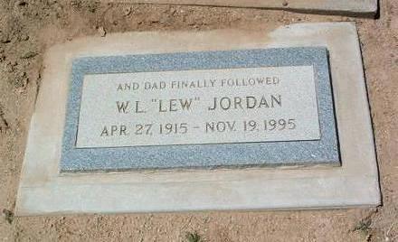 JORDAN, WILLIAM LEWIS - Yavapai County, Arizona   WILLIAM LEWIS JORDAN - Arizona Gravestone Photos