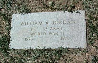JORDAN, WILLIAM ARTHUR - Yavapai County, Arizona   WILLIAM ARTHUR JORDAN - Arizona Gravestone Photos