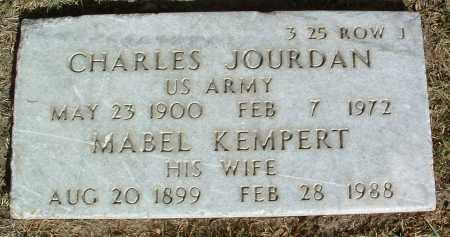 KEMPERT JOURDAN, MABEL - Yavapai County, Arizona | MABEL KEMPERT JOURDAN - Arizona Gravestone Photos