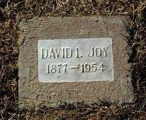 JOY, DAVID LONZO - Yavapai County, Arizona   DAVID LONZO JOY - Arizona Gravestone Photos