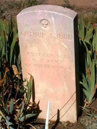 JUDD, ARTHUR J. - Yavapai County, Arizona | ARTHUR J. JUDD - Arizona Gravestone Photos
