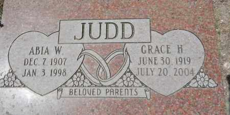 JUDD, GRACE H. - Yavapai County, Arizona | GRACE H. JUDD - Arizona Gravestone Photos