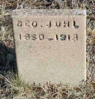 JUHL, GEORGE JORGENSON - Yavapai County, Arizona   GEORGE JORGENSON JUHL - Arizona Gravestone Photos