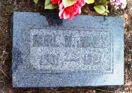 JONES, BURRILL W. (BURL) - Yavapai County, Arizona | BURRILL W. (BURL) JONES - Arizona Gravestone Photos