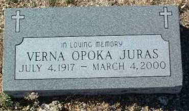 JURAS, VERNA THERESA - Yavapai County, Arizona | VERNA THERESA JURAS - Arizona Gravestone Photos