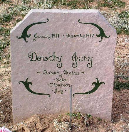 JURY, DOROTHY JESSIE - Yavapai County, Arizona | DOROTHY JESSIE JURY - Arizona Gravestone Photos