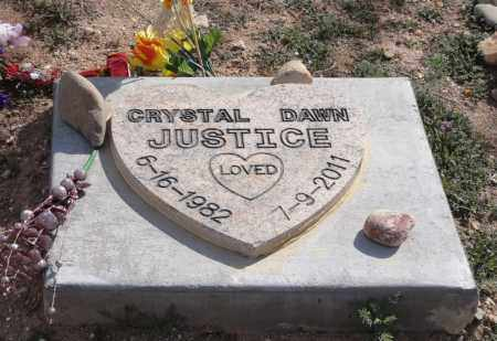 JUSTICE, CRYSTAL DAWN - Yavapai County, Arizona | CRYSTAL DAWN JUSTICE - Arizona Gravestone Photos