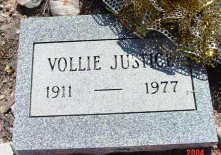 JUSTICE, VOLLIE W. - Yavapai County, Arizona | VOLLIE W. JUSTICE - Arizona Gravestone Photos