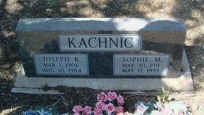 WIEWARA KACHNIC, SOPHIA - Yavapai County, Arizona | SOPHIA WIEWARA KACHNIC - Arizona Gravestone Photos