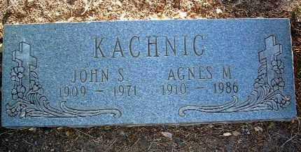 KACHNIC, AGNES M. - Yavapai County, Arizona   AGNES M. KACHNIC - Arizona Gravestone Photos