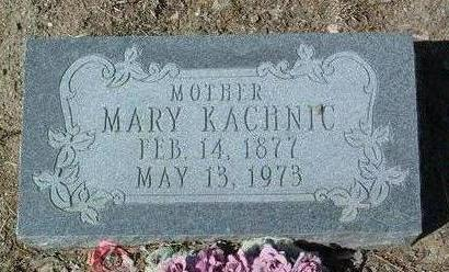 KACHNIC, MARY - Yavapai County, Arizona | MARY KACHNIC - Arizona Gravestone Photos
