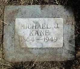 KANE, MICHAEL J. - Yavapai County, Arizona   MICHAEL J. KANE - Arizona Gravestone Photos