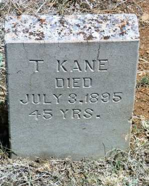 KANE, T. - Yavapai County, Arizona | T. KANE - Arizona Gravestone Photos