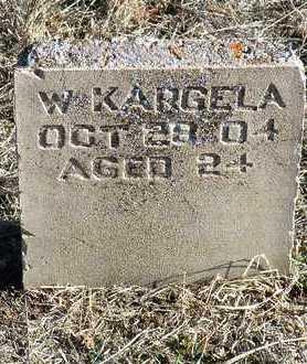 KARGELA, WILLIAM - Yavapai County, Arizona | WILLIAM KARGELA - Arizona Gravestone Photos