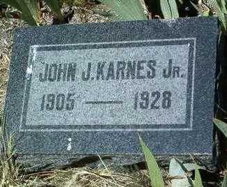KARNES, JOHN JOSEPH, JR. - Yavapai County, Arizona   JOHN JOSEPH, JR. KARNES - Arizona Gravestone Photos
