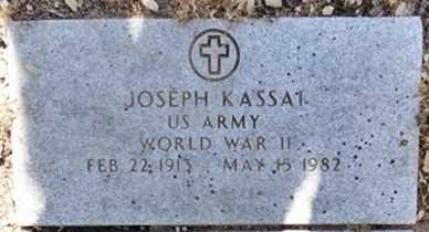 KASSAI, JOSEPH - Yavapai County, Arizona | JOSEPH KASSAI - Arizona Gravestone Photos