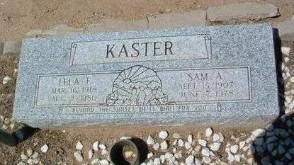 KASTER, SAMUEL A. - Yavapai County, Arizona | SAMUEL A. KASTER - Arizona Gravestone Photos