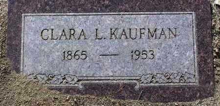 KAUFMAN, CLARA L. - Yavapai County, Arizona | CLARA L. KAUFMAN - Arizona Gravestone Photos