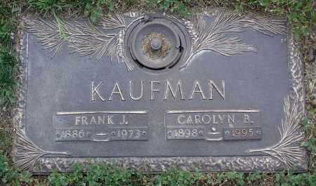 KAUFMAN, FRANK JOSEPH - Yavapai County, Arizona | FRANK JOSEPH KAUFMAN - Arizona Gravestone Photos