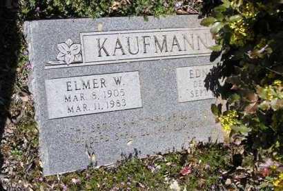 KAUFMANN, ELMER WILLIAM - Yavapai County, Arizona | ELMER WILLIAM KAUFMANN - Arizona Gravestone Photos