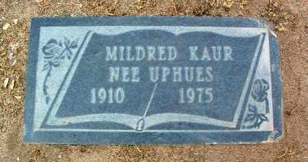 KAUR, MILDRED - Yavapai County, Arizona | MILDRED KAUR - Arizona Gravestone Photos