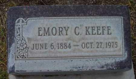 KEEFE, EMORY C. - Yavapai County, Arizona | EMORY C. KEEFE - Arizona Gravestone Photos