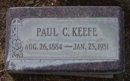 KEEFE, PAUL C. - Yavapai County, Arizona   PAUL C. KEEFE - Arizona Gravestone Photos