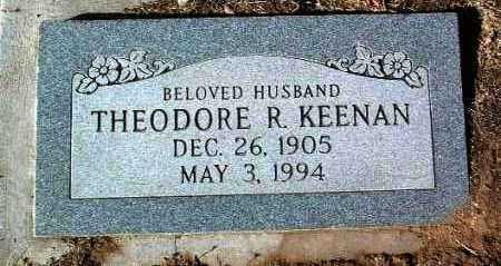 KEENAN, THEODORE R. - Yavapai County, Arizona | THEODORE R. KEENAN - Arizona Gravestone Photos