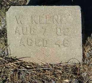 KEENE, WILLIAM - Yavapai County, Arizona | WILLIAM KEENE - Arizona Gravestone Photos