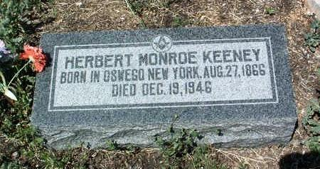 KEENEY, HERBERT MONROE - Yavapai County, Arizona | HERBERT MONROE KEENEY - Arizona Gravestone Photos